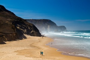 beautiful beach in Sagres