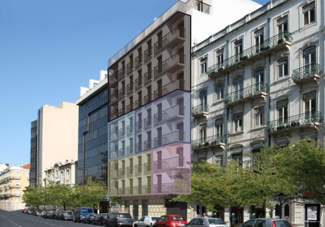 Португалия - главные бестселлеры! Апартамент в Закрытом Кондоминиуме в Центре Лиссабона  - Апартаменты