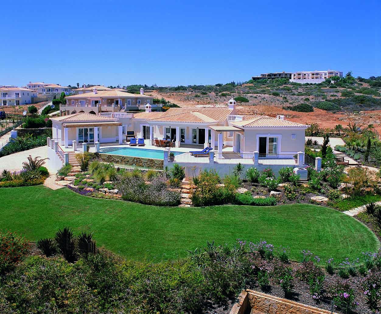 Portugal in pictures Stunning Villa with Sea Views in Praia da Luz  - Villas