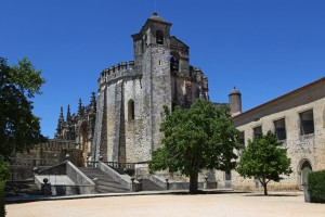 The Knights Templar Castle in Tomar