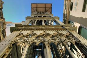 L'ascenseur santa justa, Lisbonne