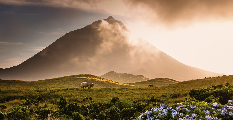 Азорские острова. Вулкан Пику