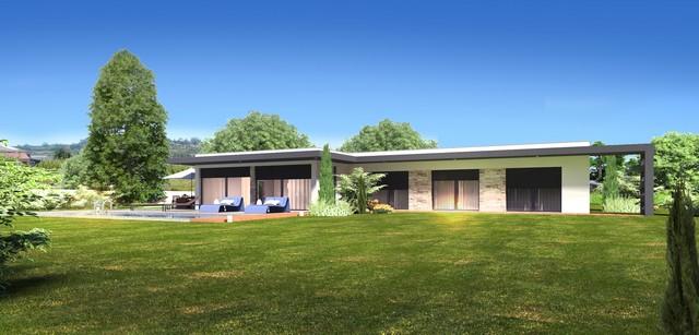 Новая вилла на Серебряном Побережье в Алкобасе  - Современный дом с панорамными видом Дом с участком 4600 км в