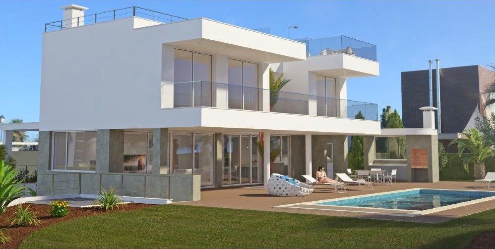 Desirable 3 bedroom villa in Porto de Mós  - This delightful villa is set in a quiet residential area of