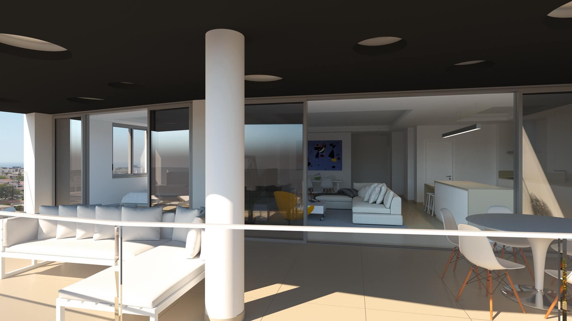 Moderne appartement de 2 chambres à Lagos  - Fantastique appartement est situé à proximité du Centre de Lagos Ce