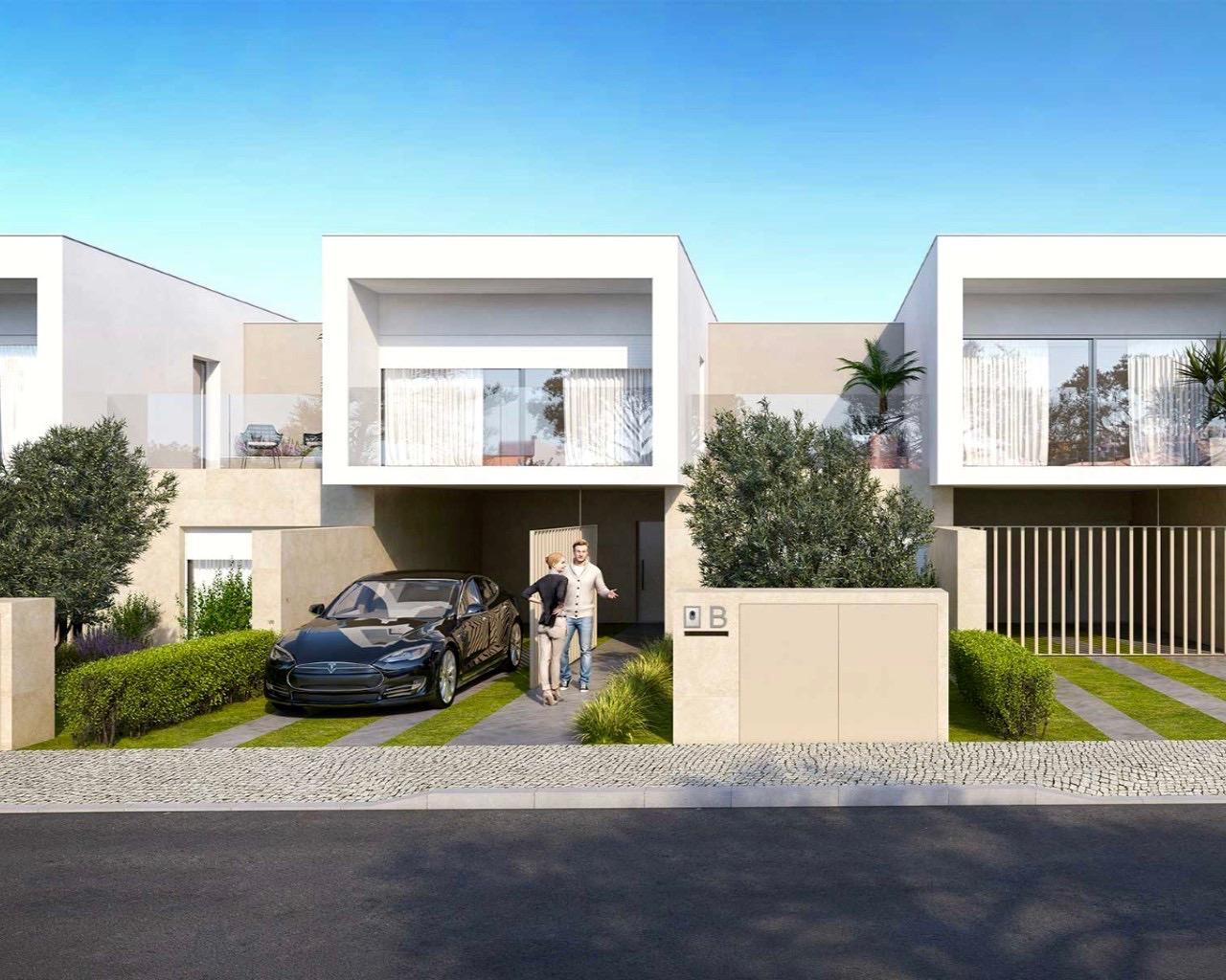 Algarve Maison contemporaine de 3 chambres dans un condominium fermé à Ferragudo  - Ferragudo