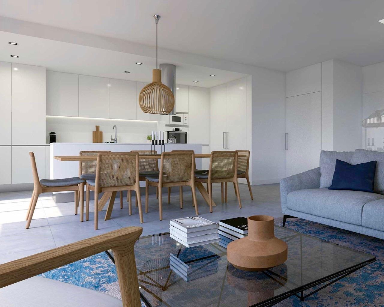 Maison contemporaine de 3 chambres dans un condominium fermé à Ferragudo  - 3 Chambres