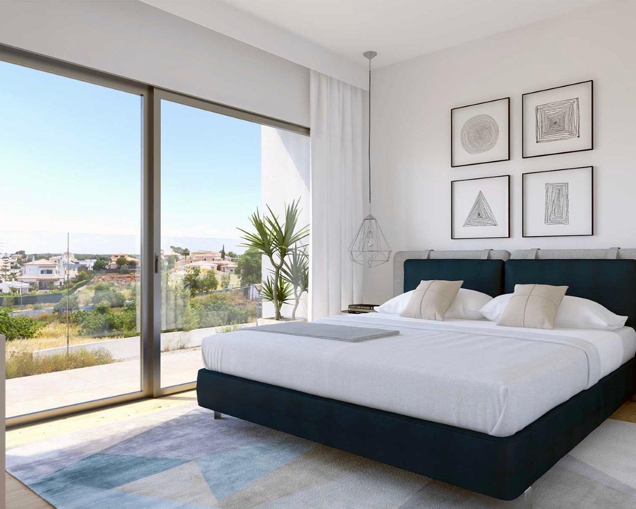 Photos Maison contemporaine de 3 chambres dans un condominium fermé à Ferragudo