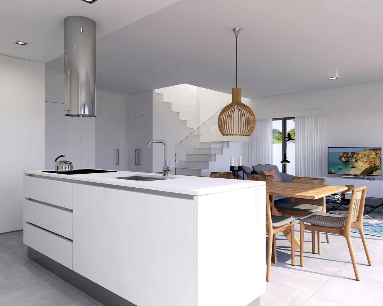 Portugal in pictures Modern 3 bedroom townhouse in Ferragudo  - Townhouses