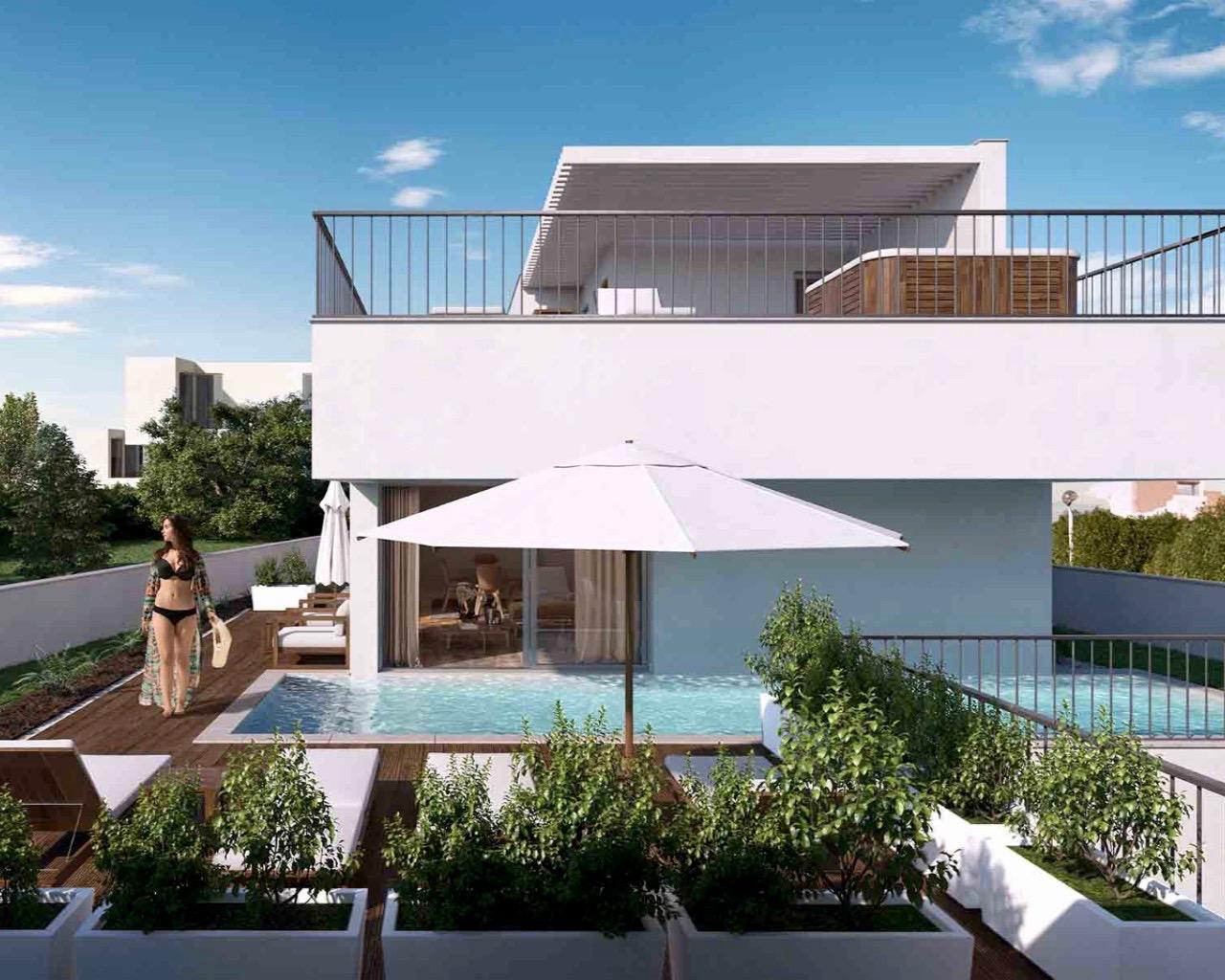 Photos Villa contemporaine de 3 chambres avec piscine individuelle, terrasses à Ferragudo