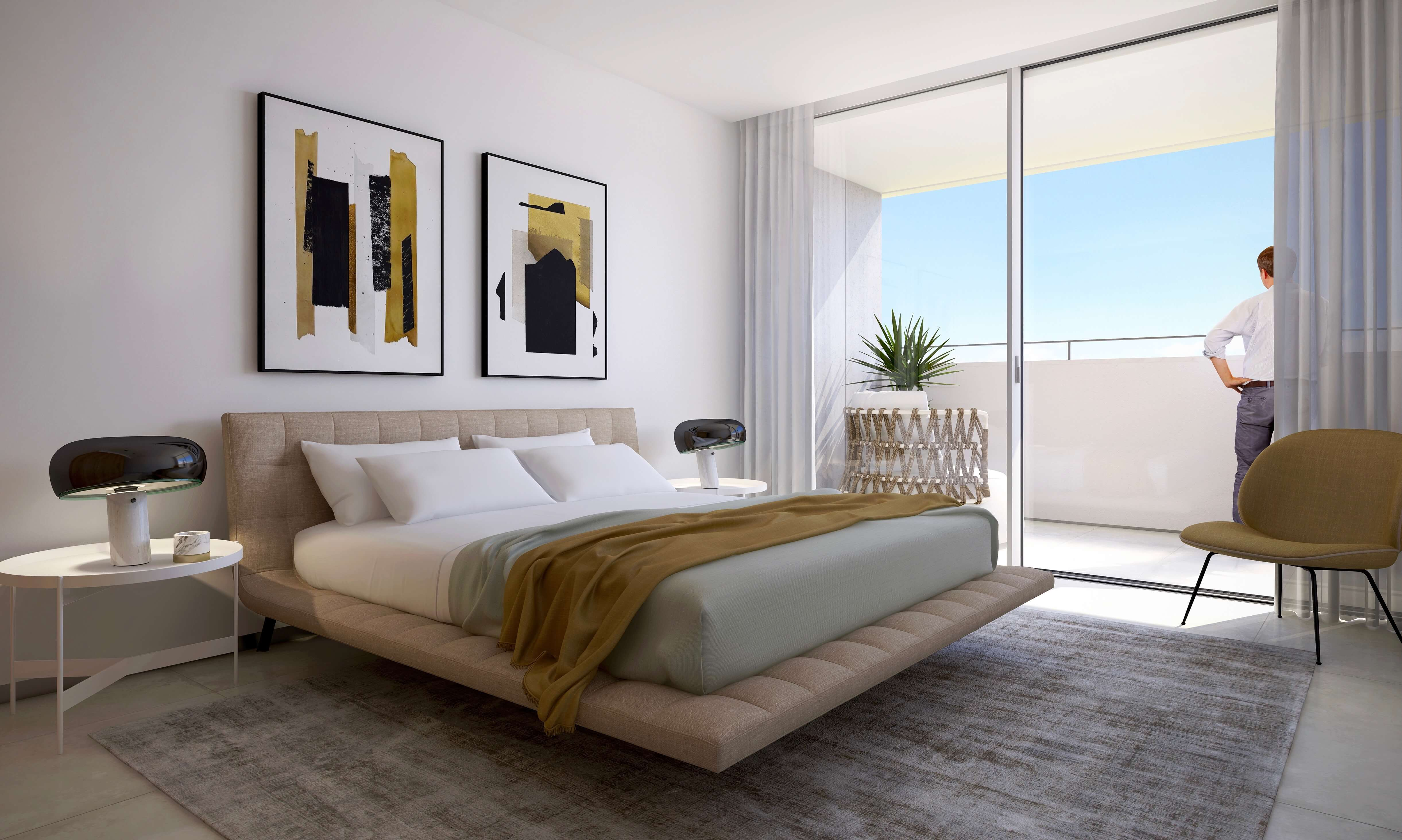 Condominium features: • Walled and gated property with electric entrance gate Luxury 3 bedroom apartment with sea views in Lagos  - Algarve