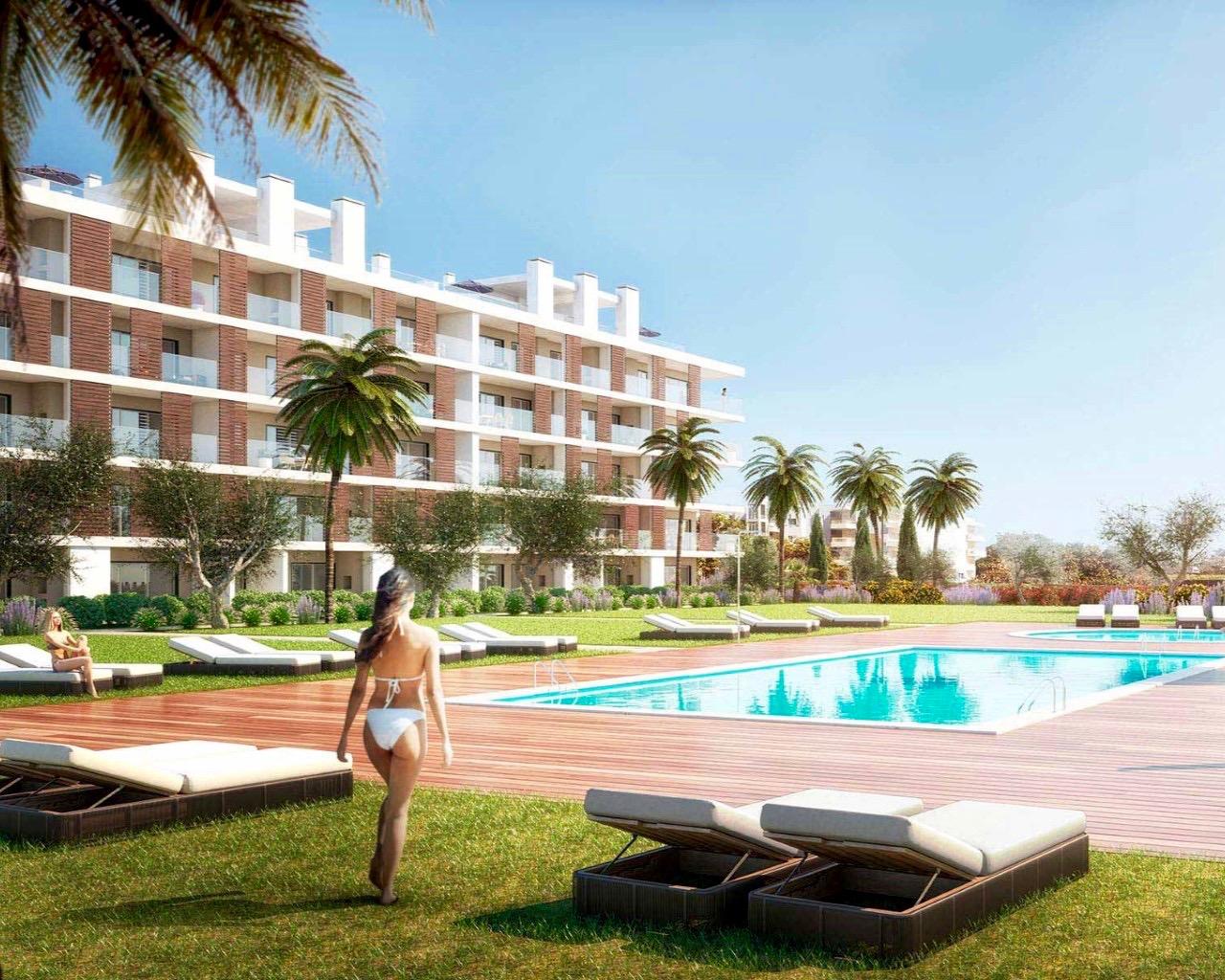 Portugal - Appartement moderne inséré dans une résidence privée à Albufeira