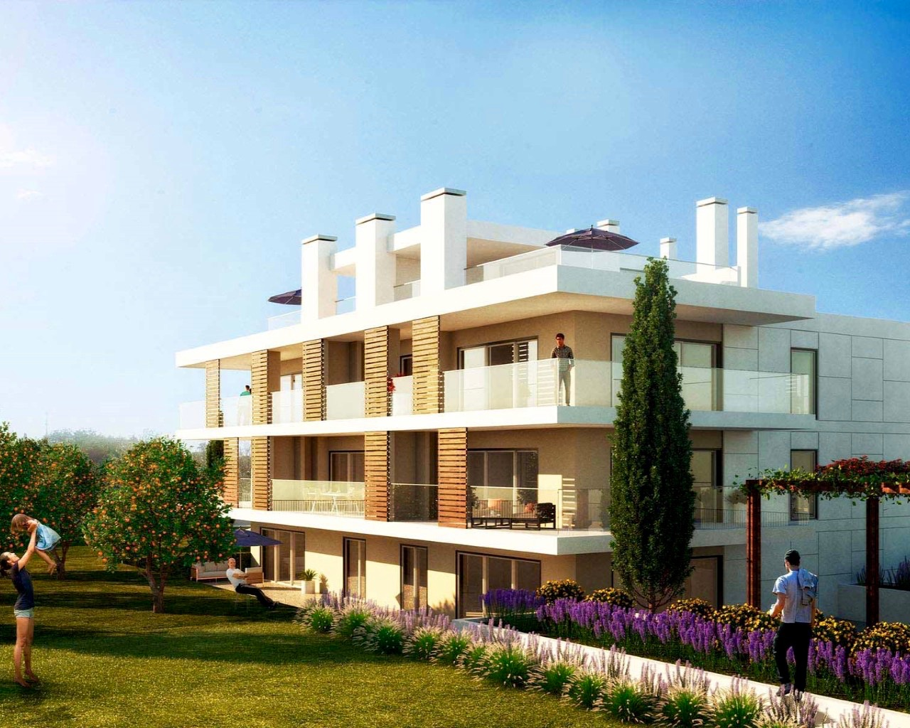 Fabulous 2 bedroom apartment in Albufeira  - Apartment in a prestigious complex with pool Brand new 2 bedroom