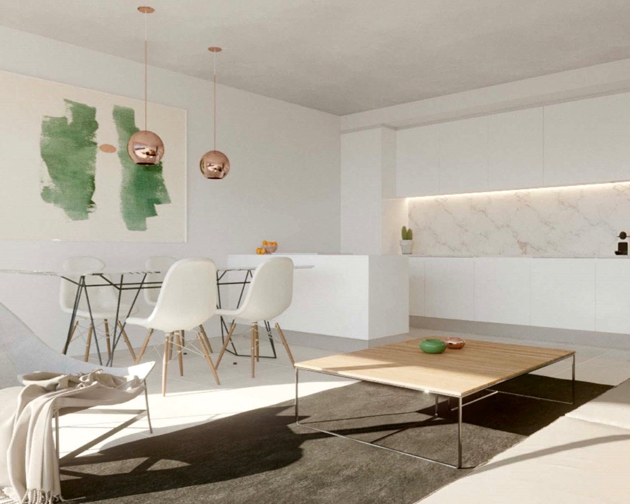 Belle 2 chambre appartement avec terrace à Albufeira  - Appartement moderne inséré dans une résidence privée 3 pièces avec terrasse